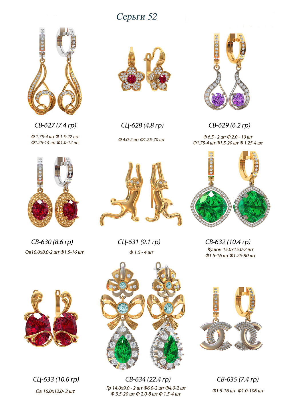 modelit-wax-models-earring-52