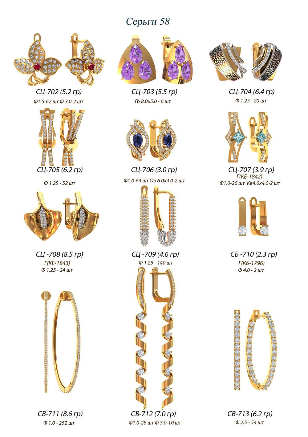 modelit-wax-models-earring-58